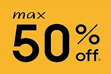 MAX50%OFF!JINSのSUMMER SALE実施中!