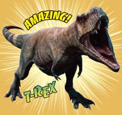 巨大!!ティラノサウルスがやって来る!