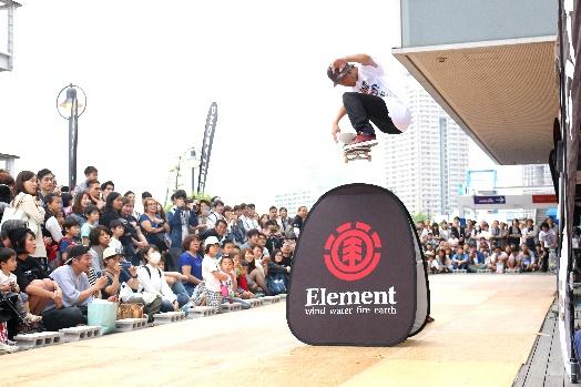 ELEMENT チャレンジ・スケートボード